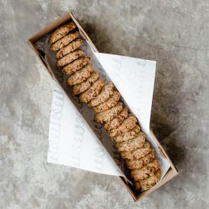 Caja con 20 galletas de granola